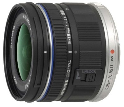OLYMPUS 超広角ズームレンズ M.ZUIKO DIGITAL ED 9-18mm F4.0-5.6【中古品】