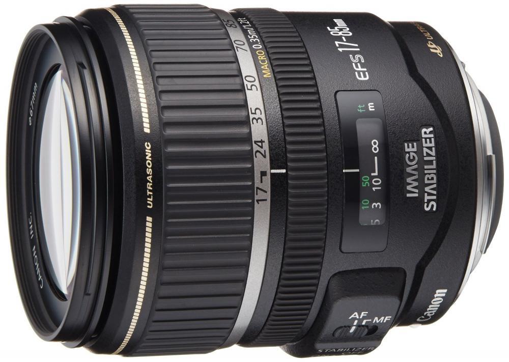 Canon EFレンズ EF-S17-85mm F4-5.6 IS USM デジタル専用 ズームレンズ 標準【!中古品!】