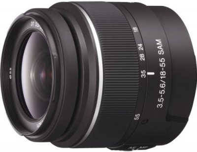ソニー DT 18-55mm F3.5-5.6 SAM SAL1855【中古品】