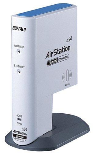 BUFFALO WLI3-TX1-G54 AirStation WLANメディアコンバータ【中古品】