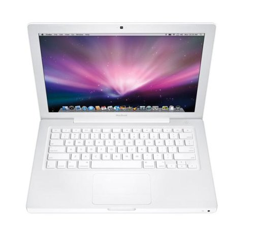 Apple MacBook 2.0GHz Core 2 Duo/13.3型/2G/120G/8xSDDL/802.11n/BT/Mini DVI MB881J/A【中古品】