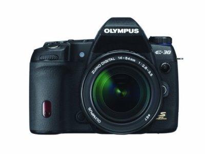 OLYMPUS デジタル一眼レフカメラ E-30 レンズキット E-30LKIT【中古品】