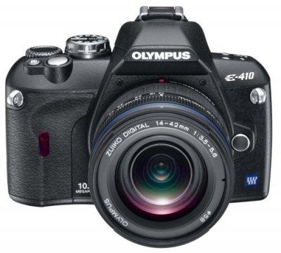 OLYMPUS デジタル一眼レフカメラ E-410 ダブルズームキット【中古品】