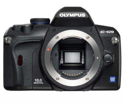 OLYMPUS デジタル一眼レフカメラ E-420 ボディ E-420【中古品】
