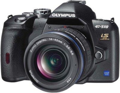 OLYMPUS デジタル一眼レフカメラ E-510 レンズキット【中古品】