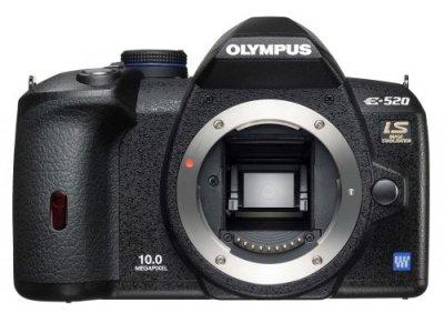 OLYMPUS デジタル一眼レフカメラ E-520 ボディ E-520【中古品】