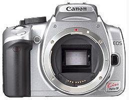 Canon EOS KISS デジタル N シルバー ボディ 0128B001【中古品】