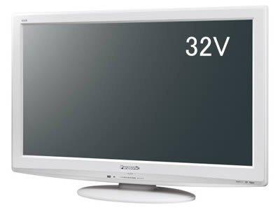 Panasonic 32V型地上・BS・110度CSデジタルハイビジョンテレビ(スノーホワイト)THL32X2W TH-L32X2-W【中古品】