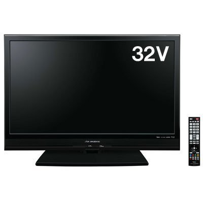 DXアンテナ 外付けHDD対応32V型地上・BS・110度CSデジタルハイビジョン液晶テレビ LVW32EU1【中古品】