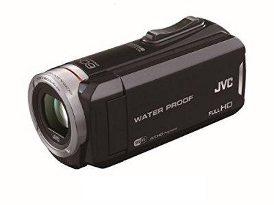 JVC KENWOOD JVC ビデオカメラ 防水5m防塵仕様 内蔵メモリー64GB ブラック GZ-RX130-B【中古品】