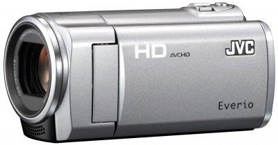 JVCケンウッド JVC 8GBフルハイビジョンメモリームービー プレシャスシルバー GZ-HM450-S【中古品】