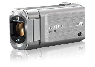 JVCケンウッド JVC ハイビジョンメモリームービー Everio GZ-VX770 32GB シルバー GZ-VX770-S【中古品】