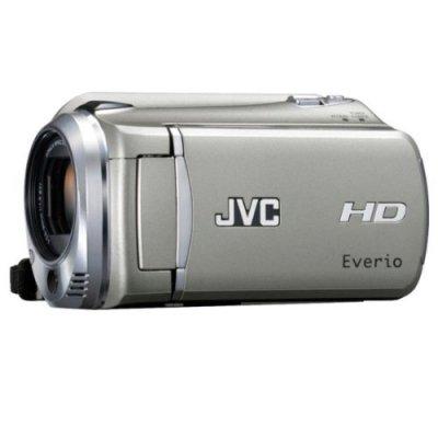 JVCケンウッド ビクター 120GBフルハイビジョンハードディスクムービー シルバー GZ-HD620-S【中古品】