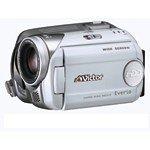 JVCケンウッド ビクター ハードディスクビデオカメラ Everio HDD20GB シルキーホワイト GZ-MG47-W【中古品】