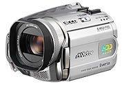 JVCケンウッド ビクター ハードディスクムービー Everio 30GB クリアシルバー GZ-MG505-S【中古品】