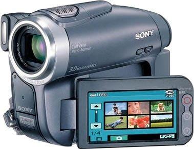 SONY DCR-DVD403 H デジタルビデオカメラ(DVD方式)【中古品】