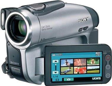 SONY DCR-DVD403 S デジタルビデオカメラ(DVD方式)【中古品】