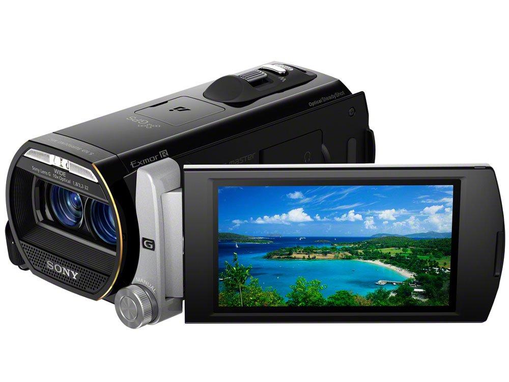 SONY ビデオカメラ Handycam TD20V 内蔵メモリー 64GB シルバー HDR-TD20V【中古品】