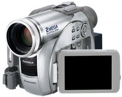 Panasonic DVDビデオカメラ VDR-M95-S【中古品】
