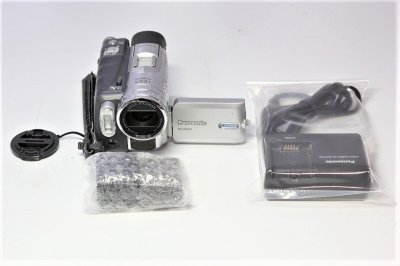 Panasonic NV-GS200K-S デジタルビデオカメラ シルバー【!中古品!】