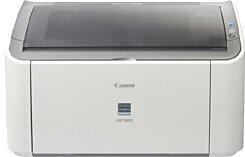 Canon Satera A4モノクロレーザープリンタ LBP3000【中古品】