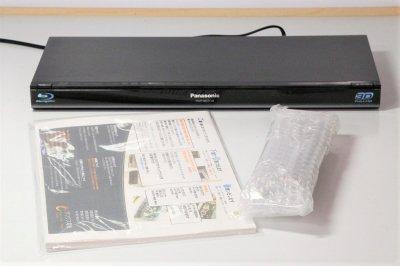 Panasonic ブルーレイディスクプレーヤー DMP-BDT110-K【中古品】