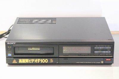SONY SL-F100 ベータデッキ モノラル【中古品】
