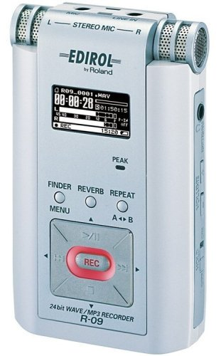 Roland 24bit WAVE/MP3 Recorder (白) R-09W【中古品】