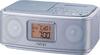 SONY  CDラジオカセットコーダー CFD-E500TV(S)【中古品】