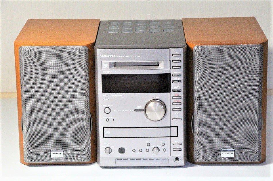 ONKYO オンキヨー(オンキョー) X-A7 CD/MDコンポ 【中古品】