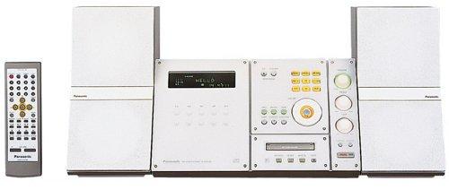 Panasonic パーソナルミニコンポ ホワイト SC-PM50MD-W【中古品】