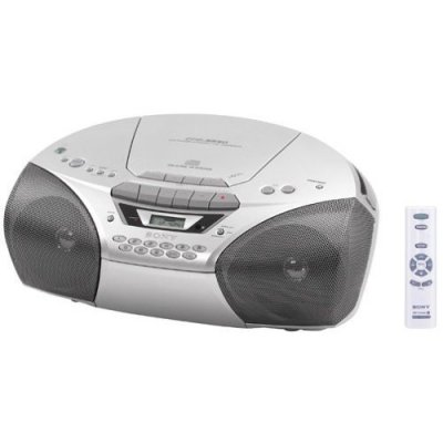 CD ラジオカセットコーダー CFD-S250【中古品】