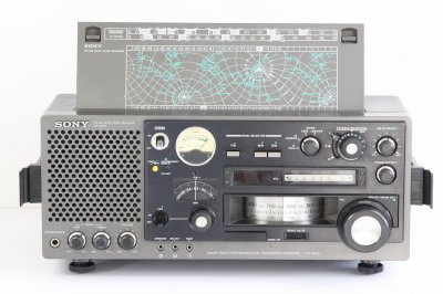 SONY BCLラジオ ICF-6800 ACアダプター付【中古整備品】