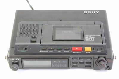SONY TCD-D10 DAT (ブラック)【中古品】