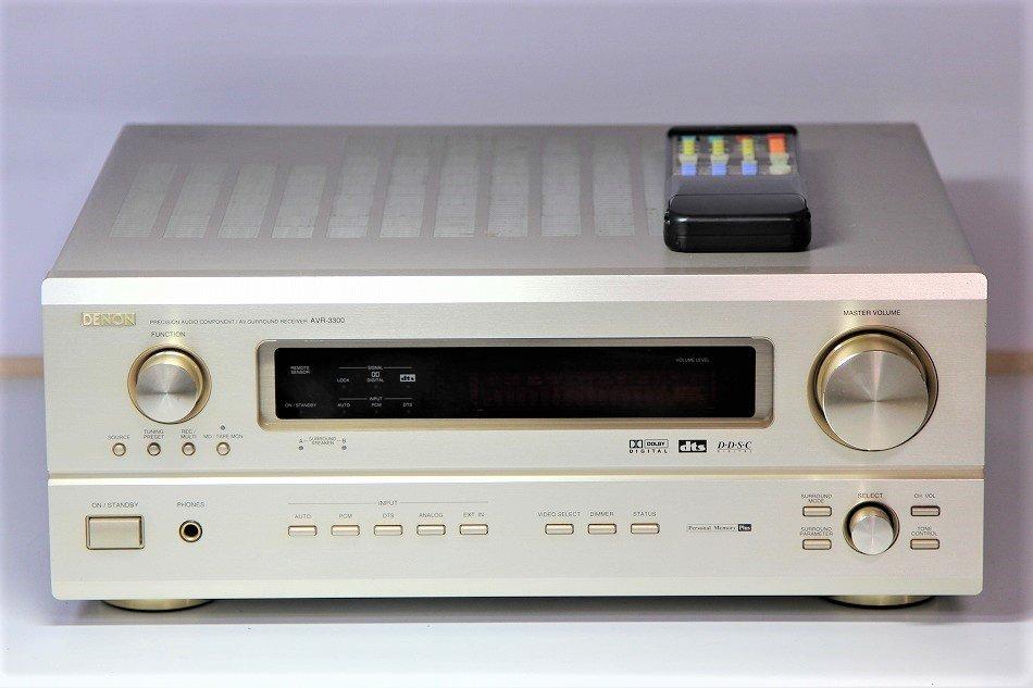DENON デノン(デンオン)AVR-3300 AVアンプ 【中古品】