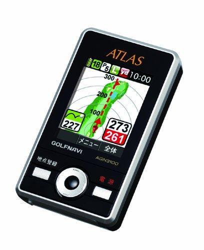 ユピテル(YUPITERU) ATLAS アトラス ゴルフナビ AGN3100【中古品】