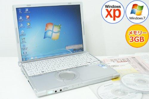 中古ノートパソコン office付き Windows7 XP ダウングレード B5 無線LAN レッツノート パナソニック 【中古…
