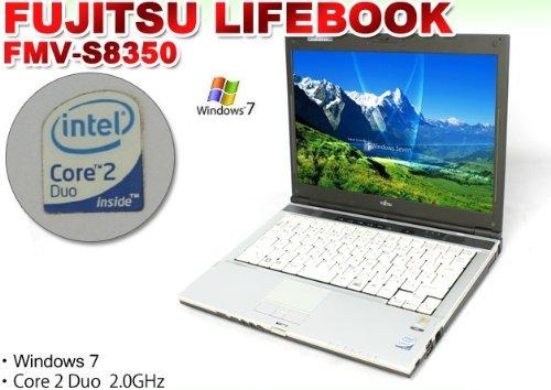 中古ノートパソコン 14インチ液晶 富士通FMV-S8350 【Windows7 搭載】【WiFi無線LAN内蔵】【Core【中古品】