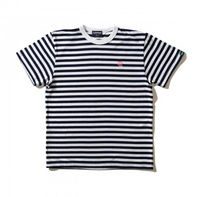 CPZロゴボーダーTシャツ