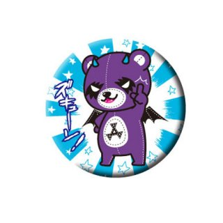 【北海道】コアックマ&アックマ 缶バッジ 『ズキュン』