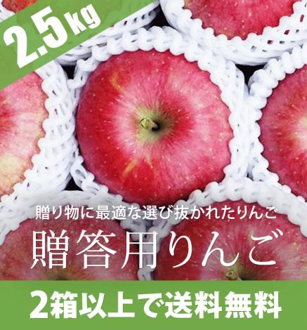 贈答用りんご 2.5kg(6〜9個)