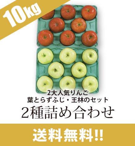通常品りんご 2種詰め合わせ 9kg(26~40個)