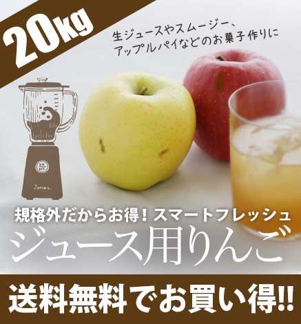 スマートフレッシュジュース用りんご 20kg