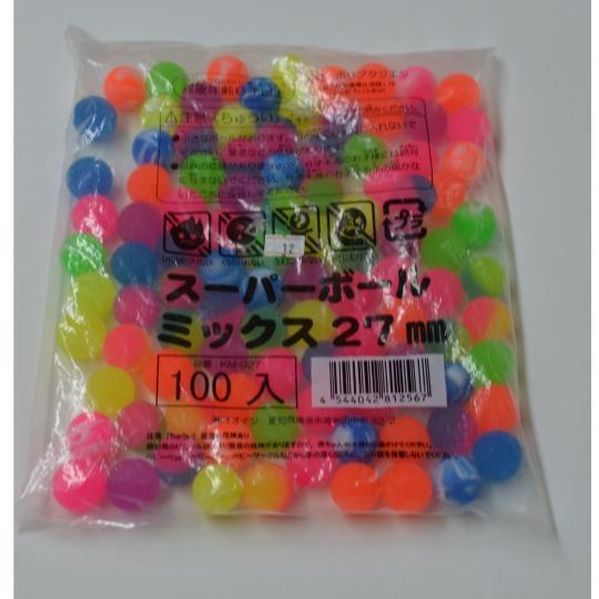 【小物玩具】スーパーボールとくとくパック(100コ入)