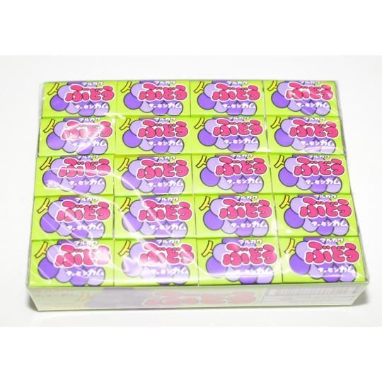 【イベントに最適・くじ付き】ぶどうガム(60個(55+あたり5) 単価10円以下)