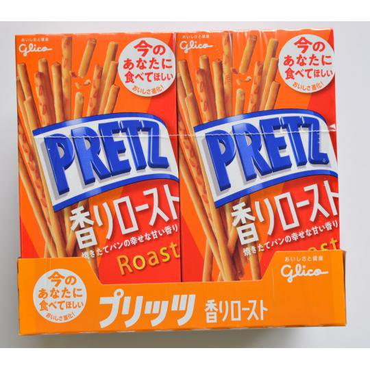 【箱売駄菓子】PRETZ香りロースト(10箱入り 単価150円以内)