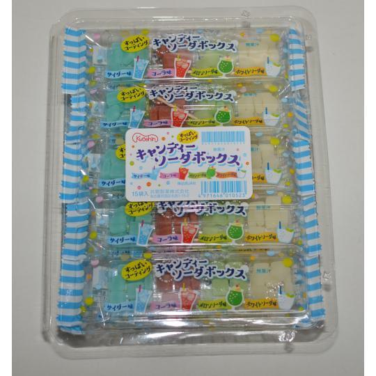 【箱売駄菓子】キャンディソーダボックス(15袋入り 単価50円以下)