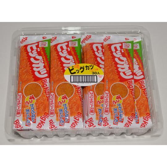 【箱売駄菓子】ビッグカツ(30袋入り 単価30円以下)