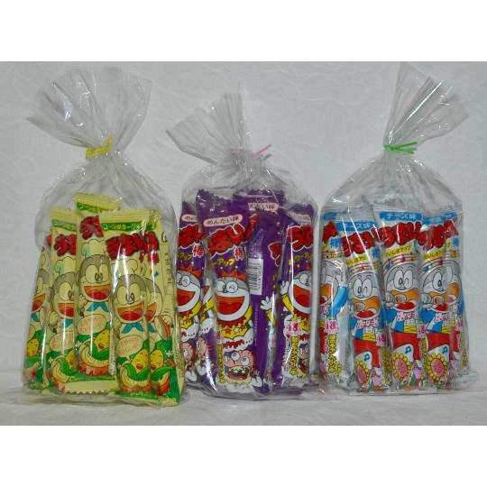【袋売駄菓子】うまい棒3種10本入り(10本入り×3袋 単価10円以下)