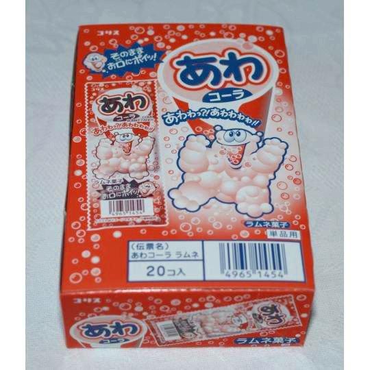【箱売駄菓子】あわコーラ(20個入り 単価30円以下)